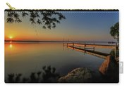 Sunrise Over Cayuga Lake Carry-all Pouch by Everet Regal
