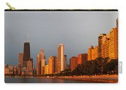 Sunrise Over Chicago Carry-all Pouch