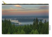 Sunrise Over City Of Vancouver Bc Canada Carry-all Pouch