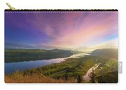 Sunrise Over Columbia River Gorge Carry-all Pouch
