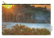 Sunrise Over Corfe Carry-all Pouch