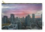 Sunrise Over Downtown Vancouver Bc Carry-all Pouch