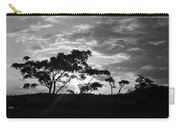 Sunrise Over Fort Salonga B W Carry-all Pouch