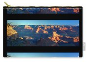 Sunrise Over Grand Canyon Carry-all Pouch