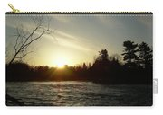 Sunrise Over Mississippi River Carry-all Pouch