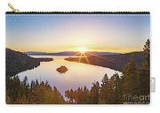 Sunrise Over The Bay Carry-all Pouch