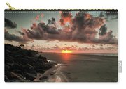 Sunrise Over The Beach Carry-all Pouch