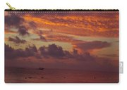 Sunrise Over The Caribean Carry-all Pouch