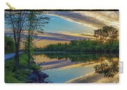 Sunrise Over The Champlain Canal Carry-all Pouch