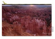 Sunrise Over The Hoodoos Bryce Canyon National Park Carry-all Pouch by Dave Welling