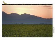 Sunrise Over The Kamnik Alps And Rapeseed Carry-all Pouch