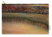 Sunrise Over The Marsh Carry-all Pouch