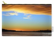 Sunrise Over The Mississippi Carry-all Pouch