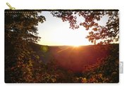 Sunrise Over The Mountain  Carry-all Pouch