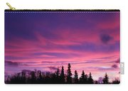 Sunrise Over The Trees Carry-all Pouch