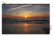 Sunrise Over The Waves Carry-all Pouch