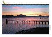 Sunrise Over Tomales Bay Carry-all Pouch