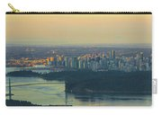 Sunrise Over Vancouver Bc And Stanley Park Panorama Carry-all Pouch