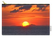 Sunrise Over Western Cuba Carry-all Pouch