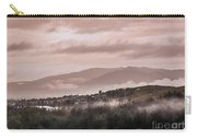 Sunrise Pink Over Tlacolula Valley Carry-all Pouch