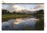 Sunrise Reflection At Schwabacher Landing  Carry-all Pouch