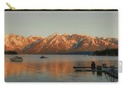 Sunrise Reflections On Colter Bay Carry-all Pouch