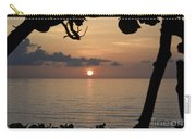 Sunrise Silhouettes Carry-all Pouch