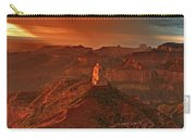 Sunrise Storm Mount Hayden Grand Canyon Arizona Carry-all Pouch