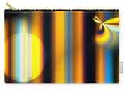 Sunrise Stripes Carry-all Pouch