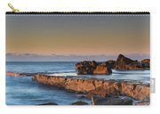 Sunrise, The Sea And Tessellated Rock Platform Carry-all Pouch