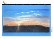 Sunrise Through Sea Oats Carry-all Pouch
