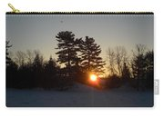 Sunrise Under Pine Tree Carry-all Pouch