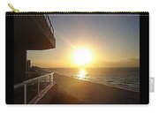 Sunrise View From The Balcony Carry-all Pouch