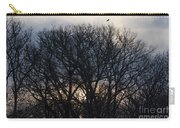 Sunrise With Bird Carry-all Pouch