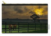 Sunrise With Horses Carry-all Pouch