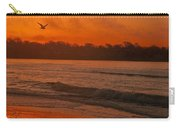 Sunrise With Seagull Carry-all Pouch