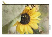 Last Sunflower Carry-all Pouch