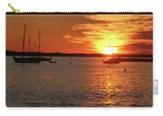 Sun's Up Provincetown Pier 3 Carry-all Pouch
