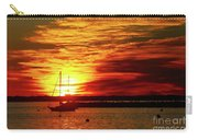 Sun's Up Provincetown Pier 4 Carry-all Pouch