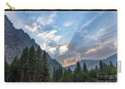 Sunset 1 Yosemite  Carry-all Pouch