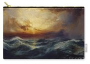 Sunset After A Storm Carry-all Pouch by Thomas Moran