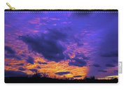 Sunset After Storm Carry-all Pouch