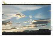 Sunset And Iridescent Cloud Carry-all Pouch