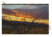 Sunset And Petrified Tree Carry-all Pouch