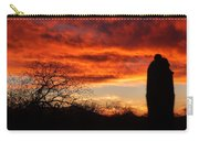 Sunset And Saguaro Carry-all Pouch