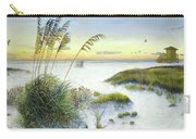 Sunset And Sea Oats At Siesta Key Public Beach Carry-all Pouch
