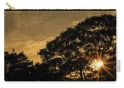 Sunset And Trees - San Salvador Carry-all Pouch