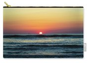 Sunset And Waves Carry-all Pouch