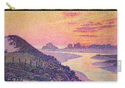 Sunset At Ambleteuse Pas-de-calais Carry-all Pouch by Theo van Rysselberghe