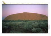 Sunset At Ayre's Rock Carry-all Pouch